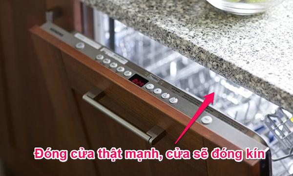 11 lỗi thường gặp khi sử dụng máy rửa chén