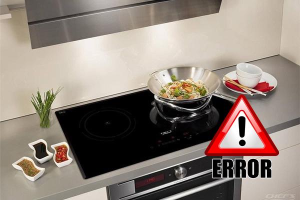 Khắc phục những lỗi thường gặp của bếp từ