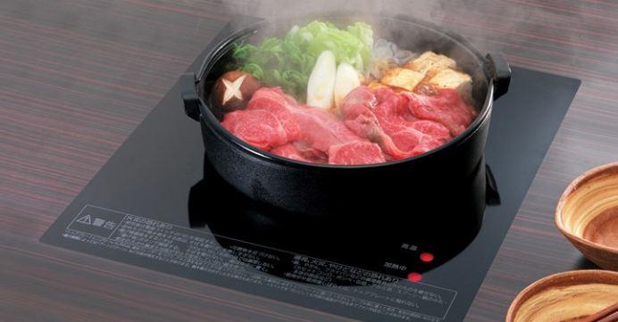 Bếp từ Nhật với thiết kế đẹp