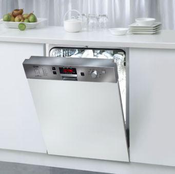Tiếng ồn tạo ra do máy rửa bát không đáng kể