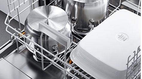 Cùng tìm hiểu máy rửa chén có rửa được xoong nồi không?