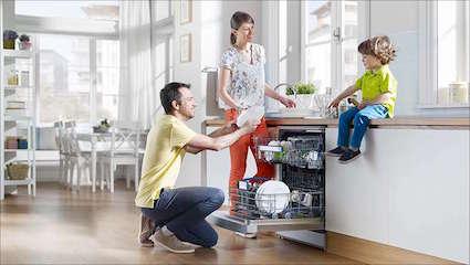 Cách lắp đặt máy rửa bát đơn giản ai cũng làm được