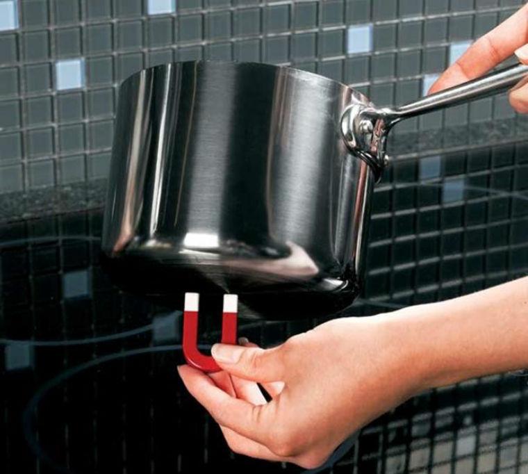 Cách kiểm tra nồi có dùng được với bếp từ không?